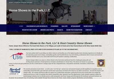 HorseShowsInThePark