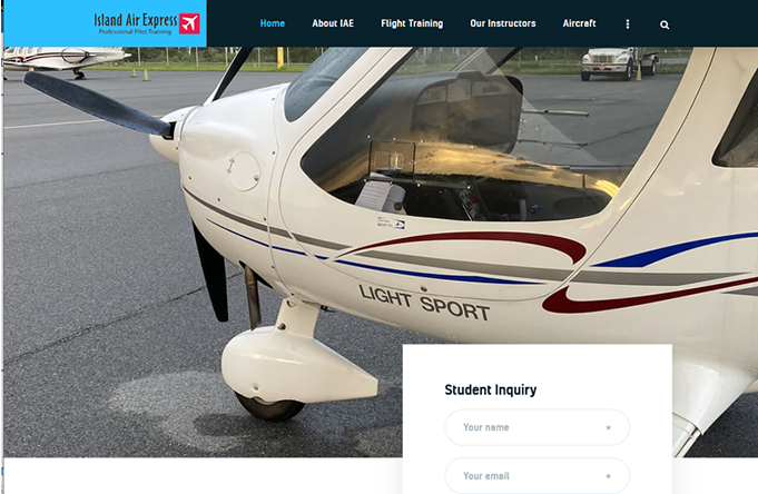 Just completed: Island Air Express Pilot Training